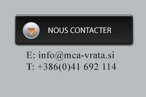 Nous contacter, MCA inženiring