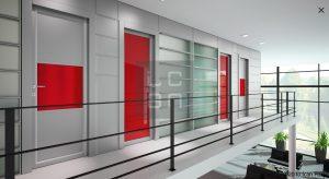 Portes intérieures, oxalis, MCA inženiring
