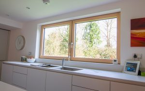 Fenêtres en bois d'aluminium, MCA inženiring