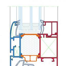 Profil alu 85 Feal esquisser, MCA inženiring